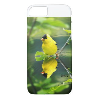 Capa iPhone 8/ 7 exemplo do Goldfinch do iPhone 7