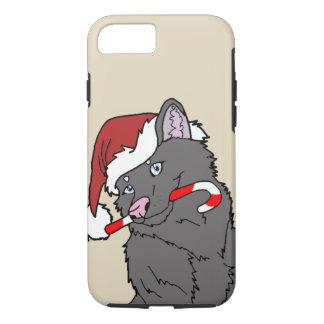 Capa iPhone 8/ 7 Exemplo do lobo O Goames de Chrismas