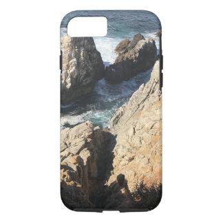 Capa iPhone 8/ 7 Exemplo do oceano da rocha