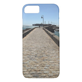 Capa iPhone 8/ 7 Exemplo do passeio à beira mar iPhone/iPad de