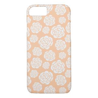 Capa iPhone 8/ 7 Exemplo do rosa branco