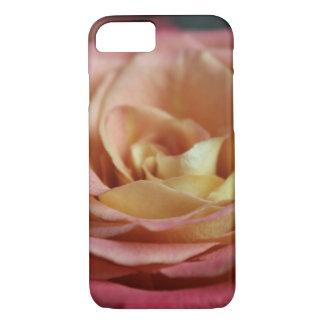 Capa iPhone 8/ 7 Exemplo do rosa de chá da casa de campo