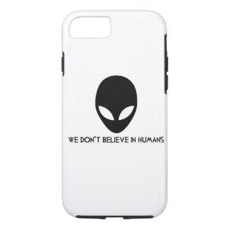 Capa iPhone 8/ 7 Exemplo dos aliens de Iphone 7: nós não