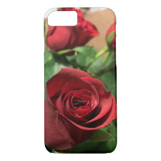 Capa iPhone 8/ 7 exemplo dos rosas do iPhone 7