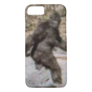 Capa iPhone 8/ 7 Exemplo engraçado de Bigfoot Sasquatch