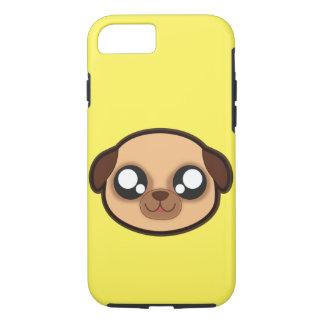 Capa iPhone 8/ 7 Exemplo engraçado do cão de Kawaii para o iphone 7