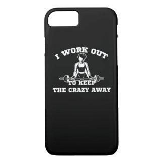 Capa iPhone 8/ 7 Exercício para manter mulheres ausentes loucas do