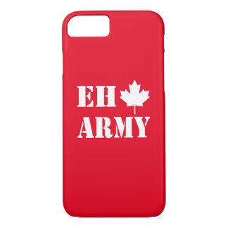 Capa iPhone 8/ 7 Exército de Canadá Eh