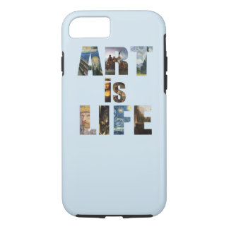 Capa iPhone 8/ 7 Faça a arte é vida Iphone 7/8 de caso resistente