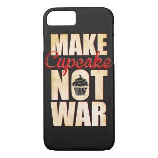 Capa iPhone 8/ 7 Faça a guerra do cupcake não