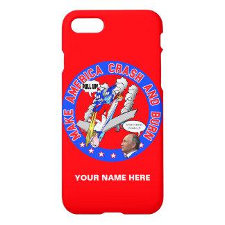Capa iPhone 8/7 Faça América deixar de funcionar & queimar-se