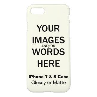 Capa iPhone 8/7 Faça-o você mesmo/DIY -