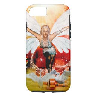 Capa iPhone 8/ 7 Fada maravilhosa com cisne
