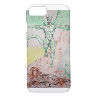 Capa iPhone 8/ 7 fantasia do tigre e do dragão