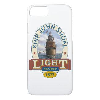 Capa iPhone 8/ 7 Farol do banco de areia de John do navio