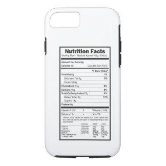 Capa iPhone 8/ 7 fatos da nutrição