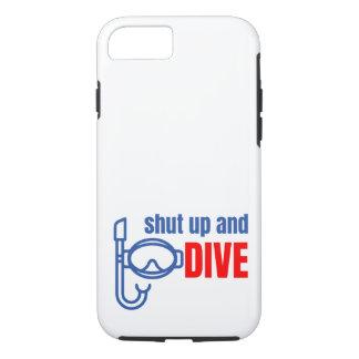 Capa iPhone 8/ 7 Feche acima e mergulhe