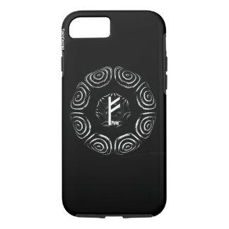 Capa iPhone 8/ 7 ☼Fehu - Rune da sorte & do Prosperity☼