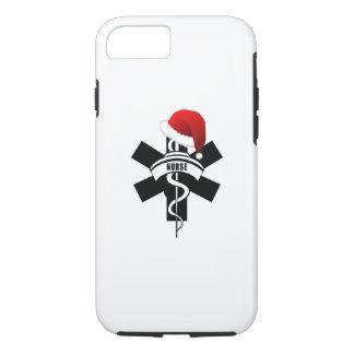 Capa iPhone 8/ 7 Feriados da enfermeira do Natal