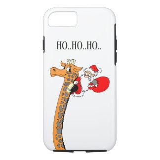 Capa iPhone 8/ 7 Feriados engraçados do papai noel do Natal