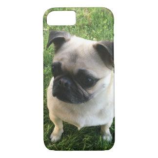 Capa iPhone 8/ 7 Filhote de cachorro do Pug