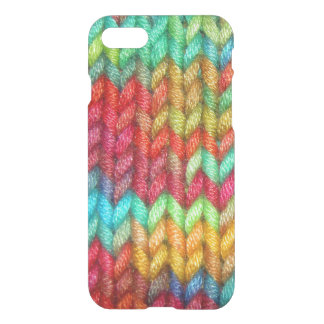 Capa iPhone 8/7 Fio colorido dos Knitters