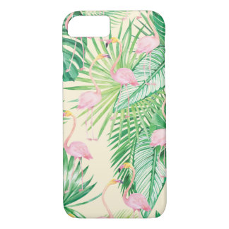 Capa iPhone 8/ 7 Flamingos bonitos do ★