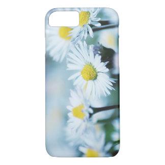 Capa iPhone 8/ 7 Flor da margarida do primavera