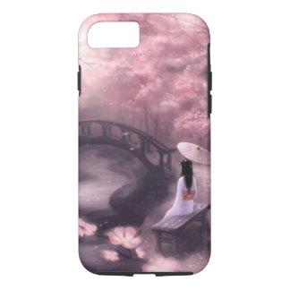 Capa iPhone 8/ 7 Flor de cerejeira japonesa