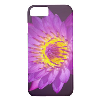 Capa iPhone 8/ 7 Flor de Lotus roxa