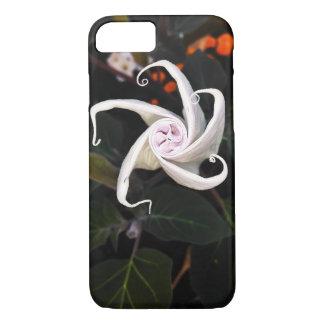 Capa iPhone 8/ 7 Flor em botão do estramónio