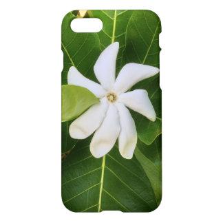 Capa iPhone 8/7 Flor havaiana do jasmim de Pikake