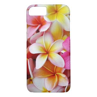 Capa iPhone 8/ 7 Flor misturada branca amarela cor-de-rosa do