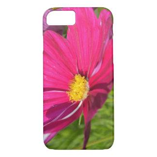 Capa iPhone 8/ 7 Flor roxa