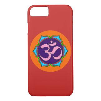 Capa iPhone 8/ 7 flor sagrado da ioga do zen da religião do budismo
