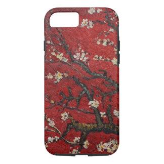 Capa iPhone 8/ 7 Flor Vincent van Gogh da amêndoa