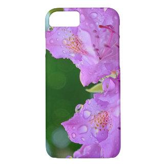 Capa iPhone 8/ 7 Flor violeta