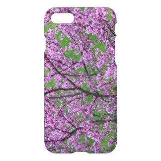 Capa iPhone 8/7 Floral cor-de-rosa