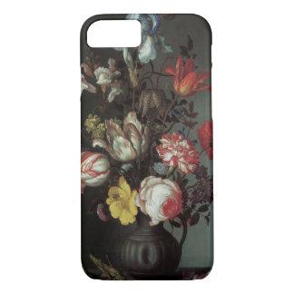 Capa iPhone 8/ 7 Flores barrocos do vintage por Balthasar camionete