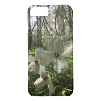 Capa iPhone 8/ 7 Flores brancas
