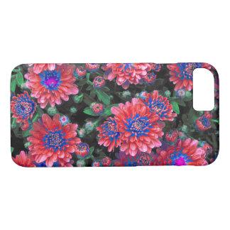 Capa iPhone 8/ 7 Flores coloridas da margarida