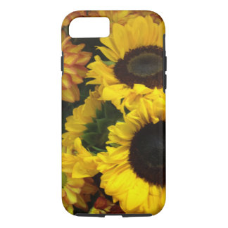 Capa iPhone 8/ 7 Flores da queda do girassol