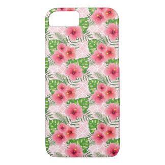Capa iPhone 8/ 7 Flores do hibiscus