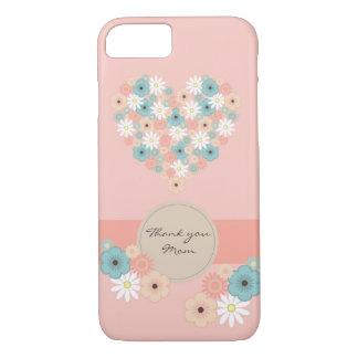 Capa iPhone 8/ 7 Flores para dizer o obrigado você mamã