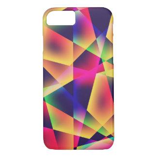 Capa iPhone 8/ 7 Fluorescência geométrica abstrata
