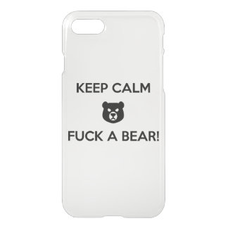 Capa iPhone 8/7 Foda um urso