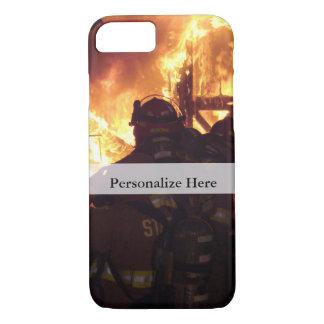 Capa iPhone 8/ 7 Fogo de combate ao fogo da estrutura