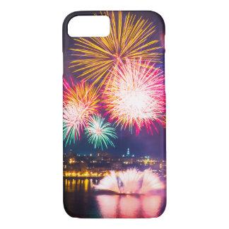 Capa iPhone 8/ 7 Fogos-de-artifício coloridos