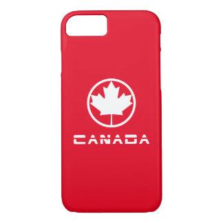 Capa iPhone 8/ 7 Folha de bordo de Canadá