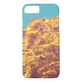 Capa iPhone 8/ 7 Folhas alaranjadas